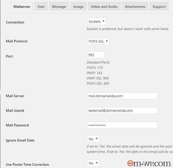 pengaturan-email-postie