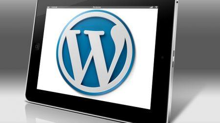 wordpress tablet