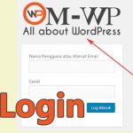 Cara Mengganti Logo Login WordPress