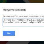 Cara Tampilkan File PDF dari Google Drive ke WordPress