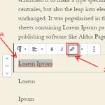 Cara Tambah Link / Url / Tautan di WordPress